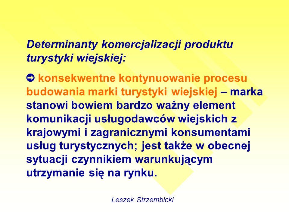 PODSTAWOWE FUNKCJE SYSTEMU DMC Projektowanie pakietów turystycznych Negocjowanie warunków z lokalnymi wytwórcami, Tworzenie cen dla poszczególnych pakietów Kontrolowanie płatności – rozliczenia z dostawcami pojedynczych usług Prowadzenie negocjacji Leszek Strzembicki