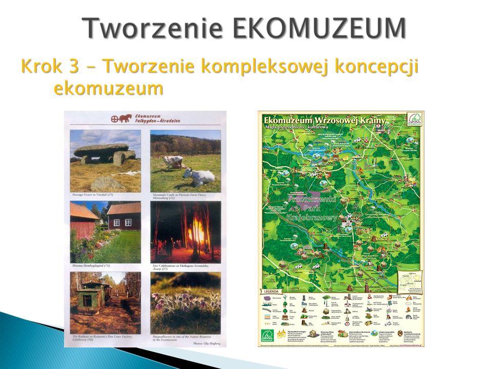 Krok 3 - Tworzenie kompleksowej koncepcji ekomuzeum