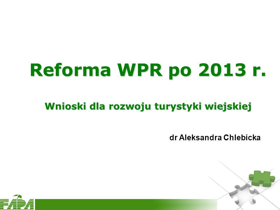 Wprowadzenie Na jakim etapie reformy jesteśmy.