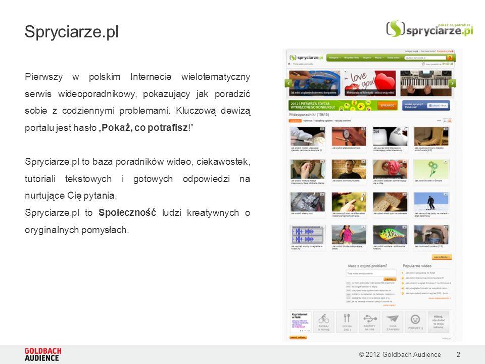 2 Pierwszy w polskim Internecie wielotematyczny serwis wideoporadnikowy, pokazujący jak poradzić sobie z codziennymi problemami.