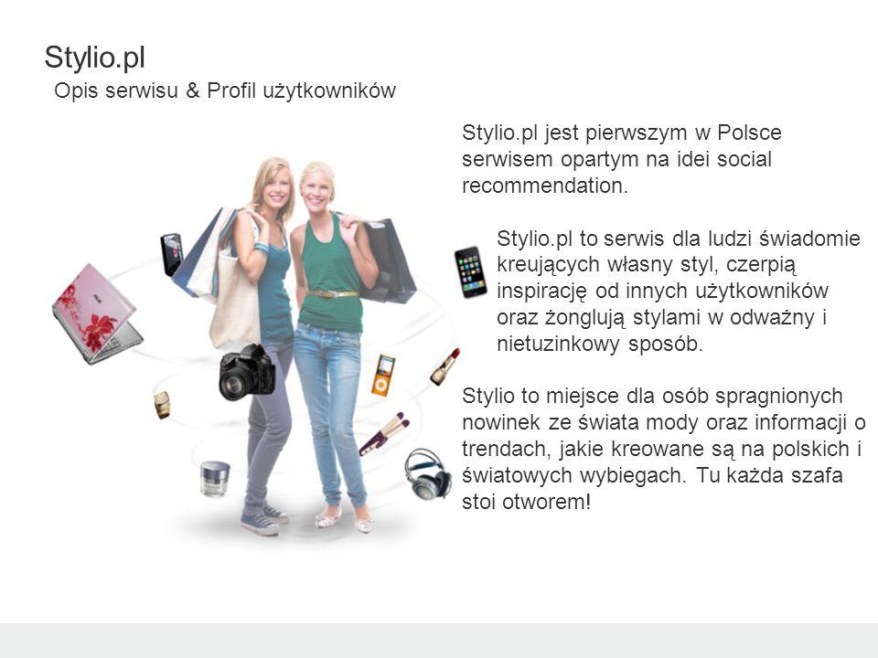 Stylio.pl jest pierwszym w Polsce serwisem opartym na idei social recommendation.