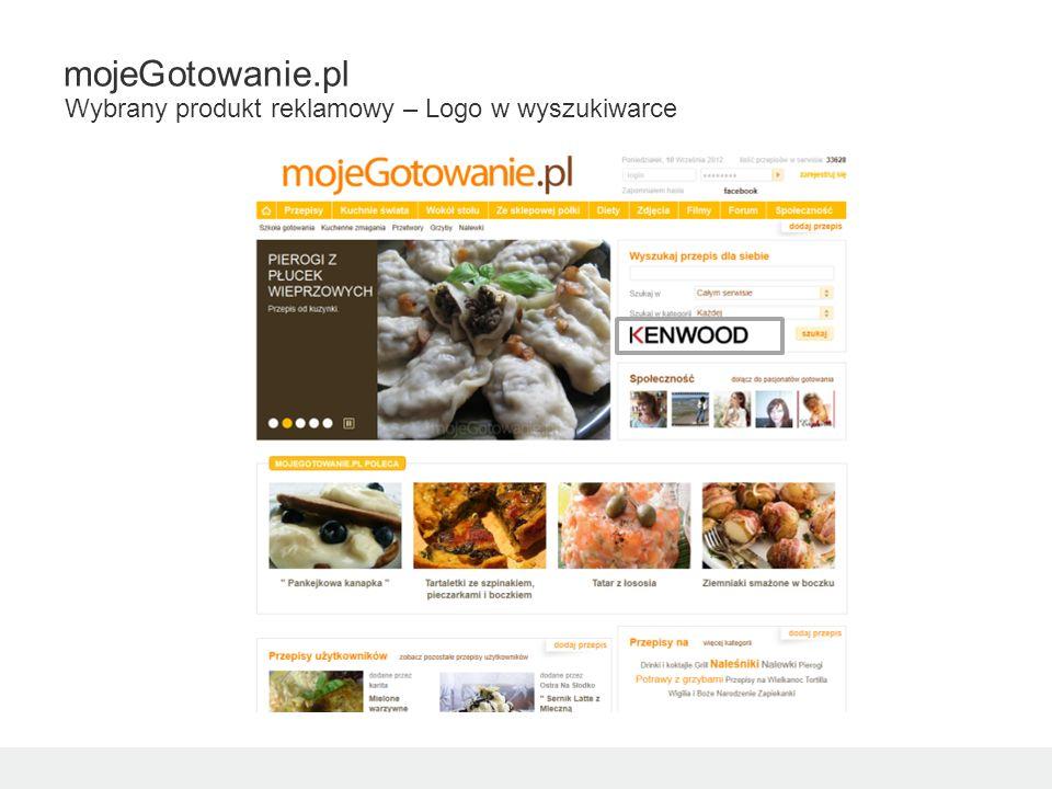 mojeGotowanie.pl Wybrany produkt reklamowy – Logo w wyszukiwarce