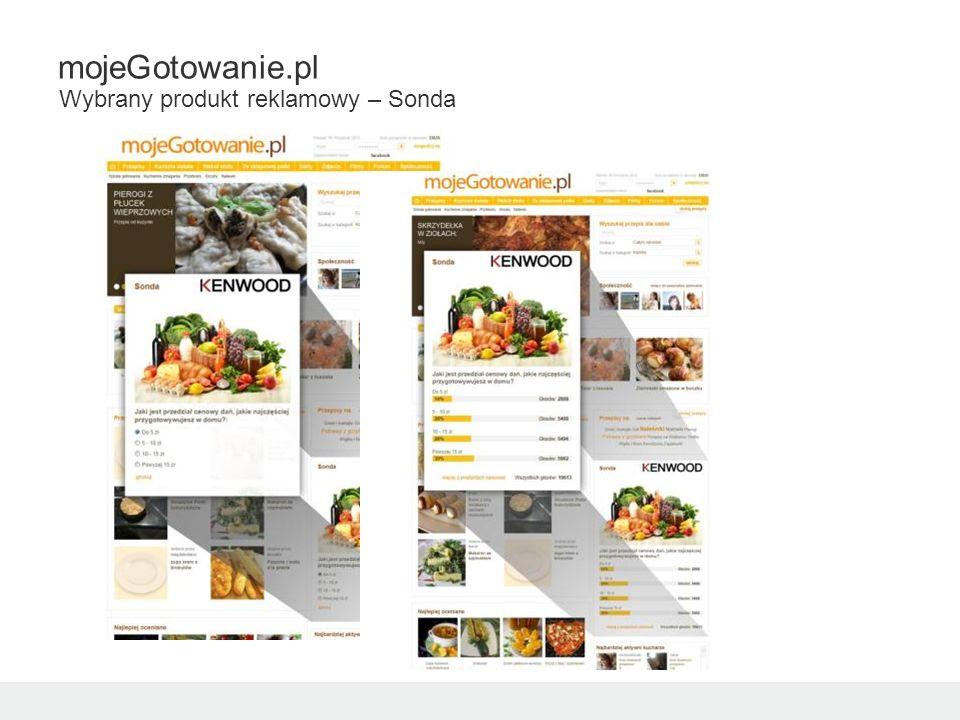 mojeGotowanie.pl Wybrany produkt reklamowy – Sonda