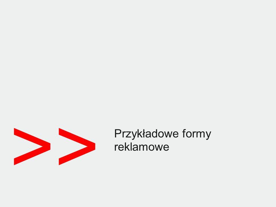 © 2012 Goldbach Audience8 Statystyki tygodniowe ROS /UU 47 158 /PV 94 290 /Double billboard /FF na ROS /Czas: 1 tydzień /Źródło danych: BBelements, 03.2013 Double billboard