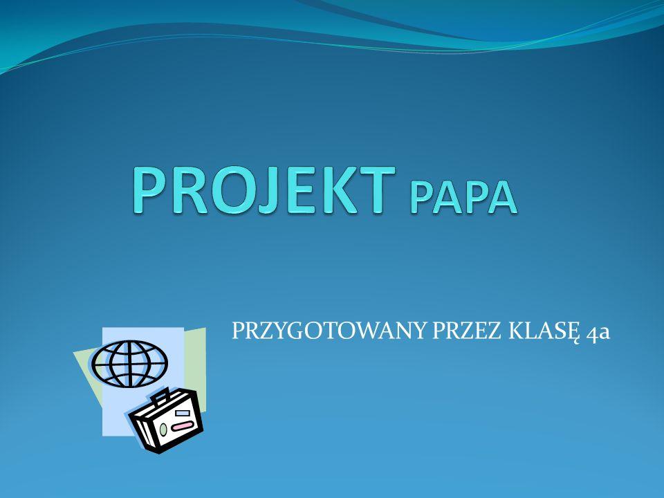 Przygotowania W grudniu 2008 podzieliliśmy naszą klasę na cztery grupy.