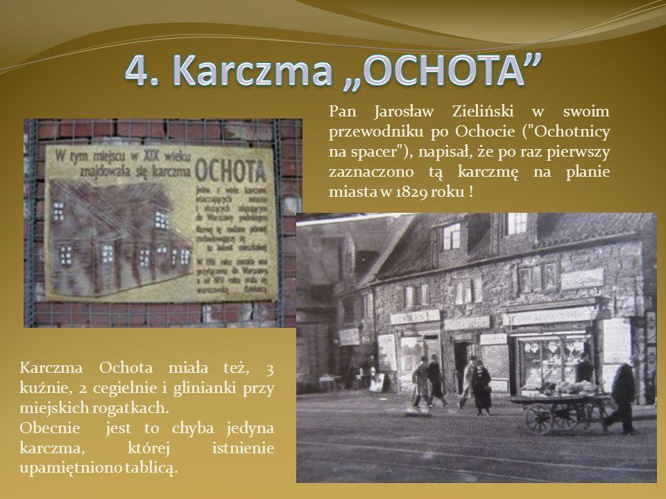 Pan Jarosław Zieliński w swoim przewodniku po Ochocie (