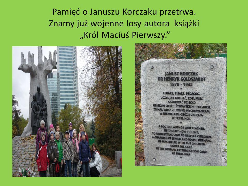 Pamięć o Januszu Korczaku przetrwa. Znamy już wojenne losy autora książki Król Maciuś Pierwszy.