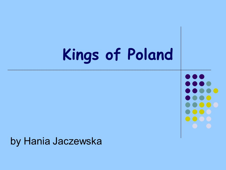 Kings of Poland by Hania Jaczewska