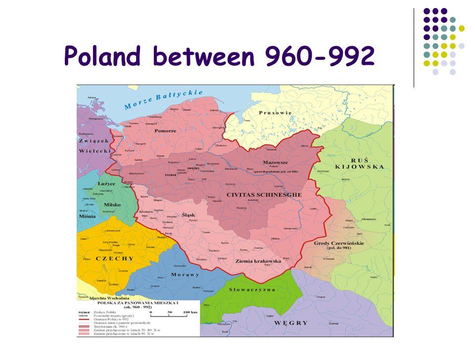 Boleslaw I Chrobry born in 967 in Poznan the first crowned king (18 April 1025) died on 17 June 1025 he had 4 wives : 2 unknown, Emnilda and Oda he organized famous meeting with Otton III, the emperor of Germany, in Gniezno Bolesław I Chrobry BezprymRegelindaOttonMatylda