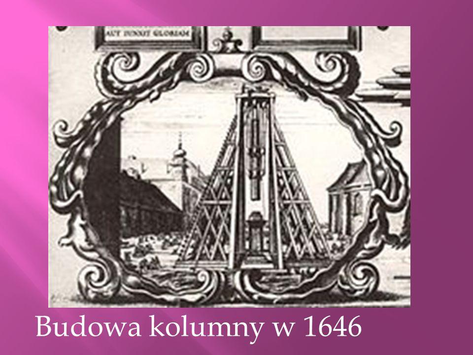 Historia pomnika Zygmunta III Wazy Kolumna Zygmunta pochodzi z 1644 r. Monumentalny pomnik króla stał poza murami miasta aż do 1818 r. Koncepcję kolum