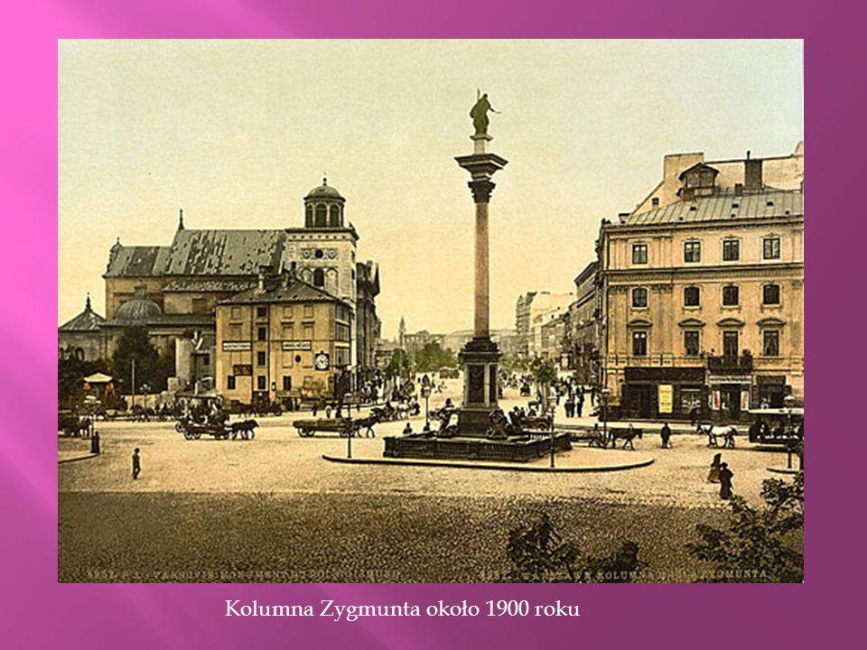 Oryginalny trzon kolumny 1644-1887