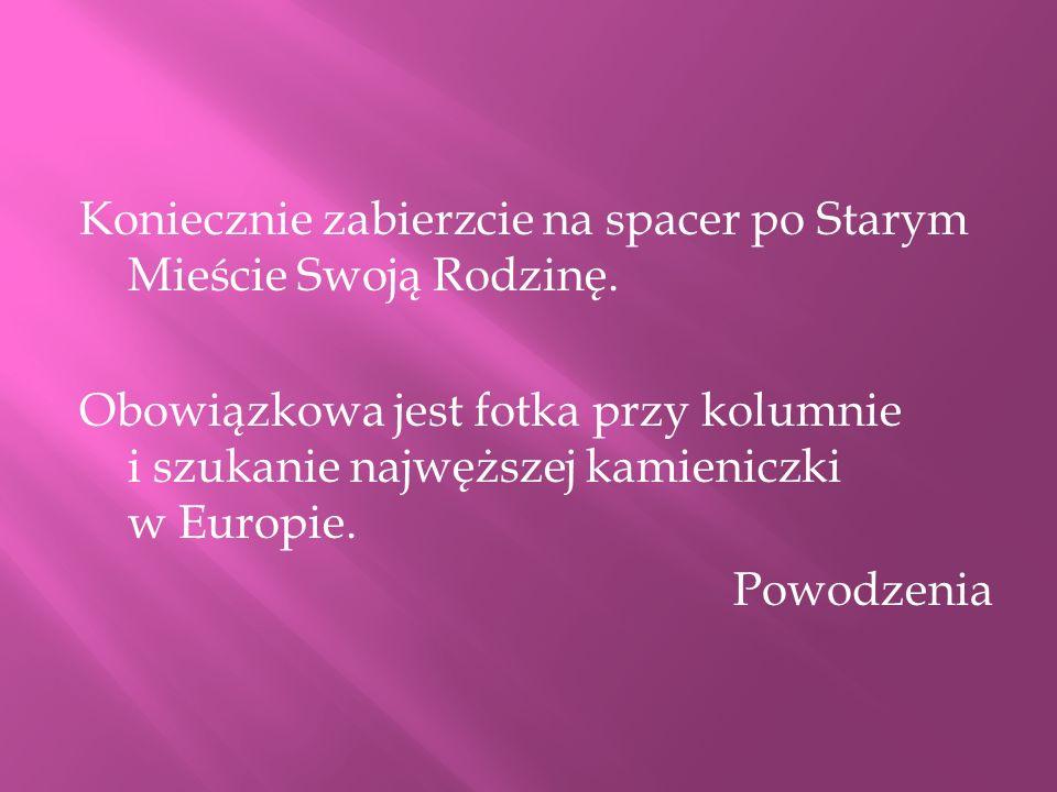 Trzon Kolumny Zygmunta przyjechał do Warszawy z Kamieniołomów w Strzegomiu.