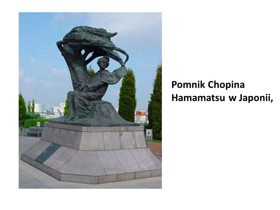 Pomnik Chopina Hamamatsu w Japonii,