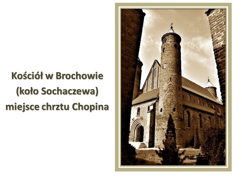 Dzieciństwo i lata szkolne Chopin spędził w Warszawie.