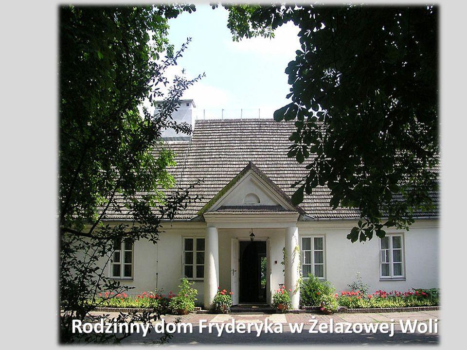 Wojciech Żywny Gdy Fryderyk miał sześć lat zaczął uczyć się gry na fortepianie.