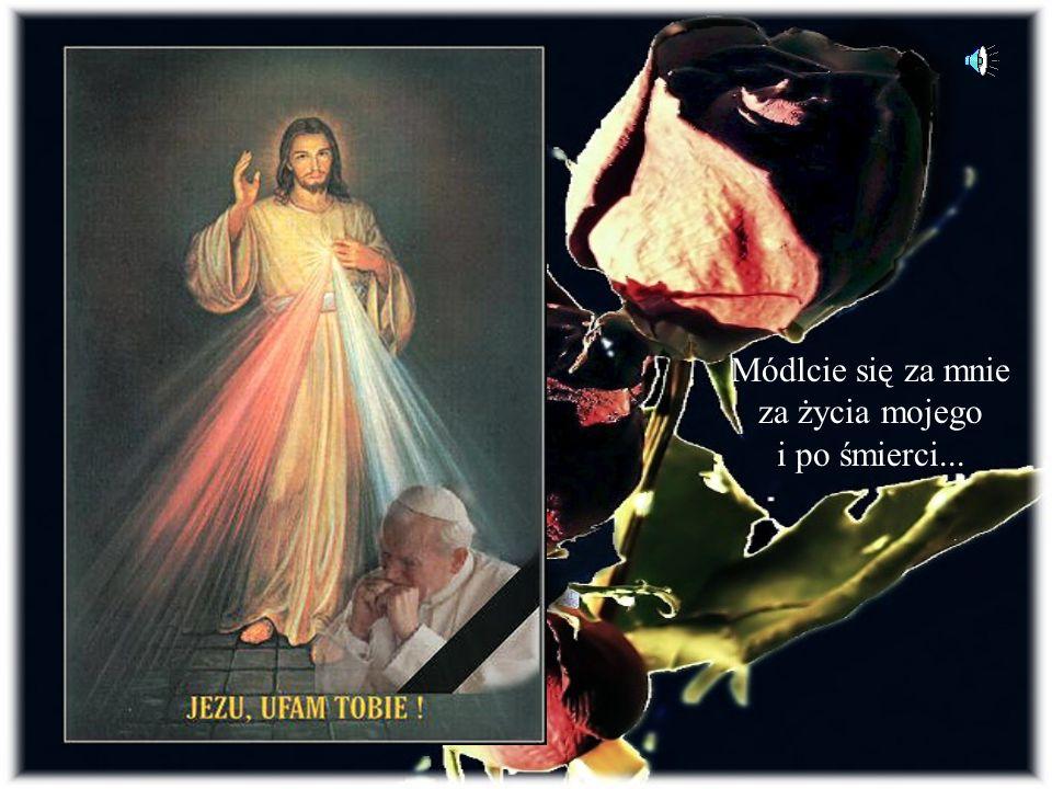 Jesteś tak bliski, tak czuły, Szczęśliwy u Ojca w Niebie ! Wciąż słyszę Twój głos łagodny: Ja tu czekam na ciebie