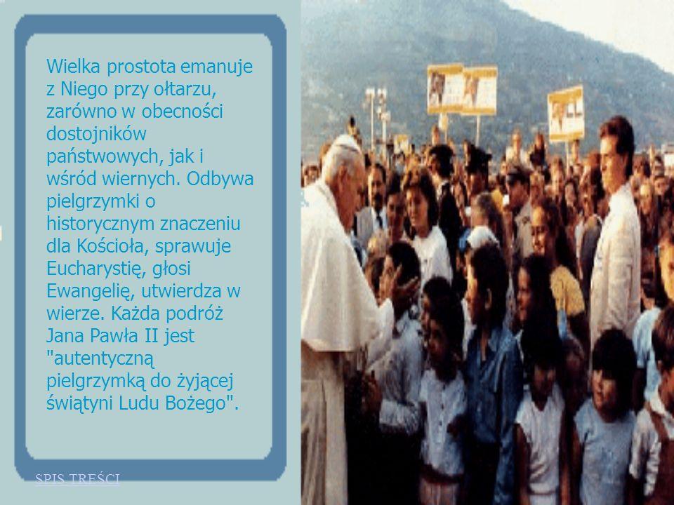 Papież końca XX wieku dociera do tysięcy, milionów wiernych ze słowem Bożym, pocieszeniem, troską o sprawiedliwość, wolą niesienia pomocy duchowej lud