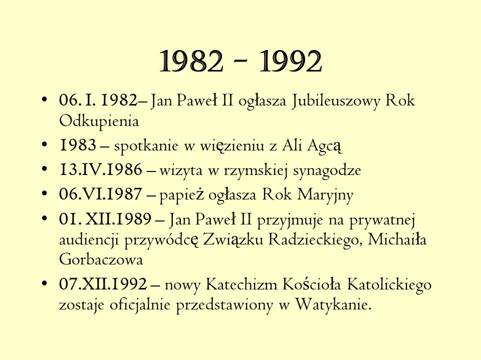 1982 - 1992 06.I.