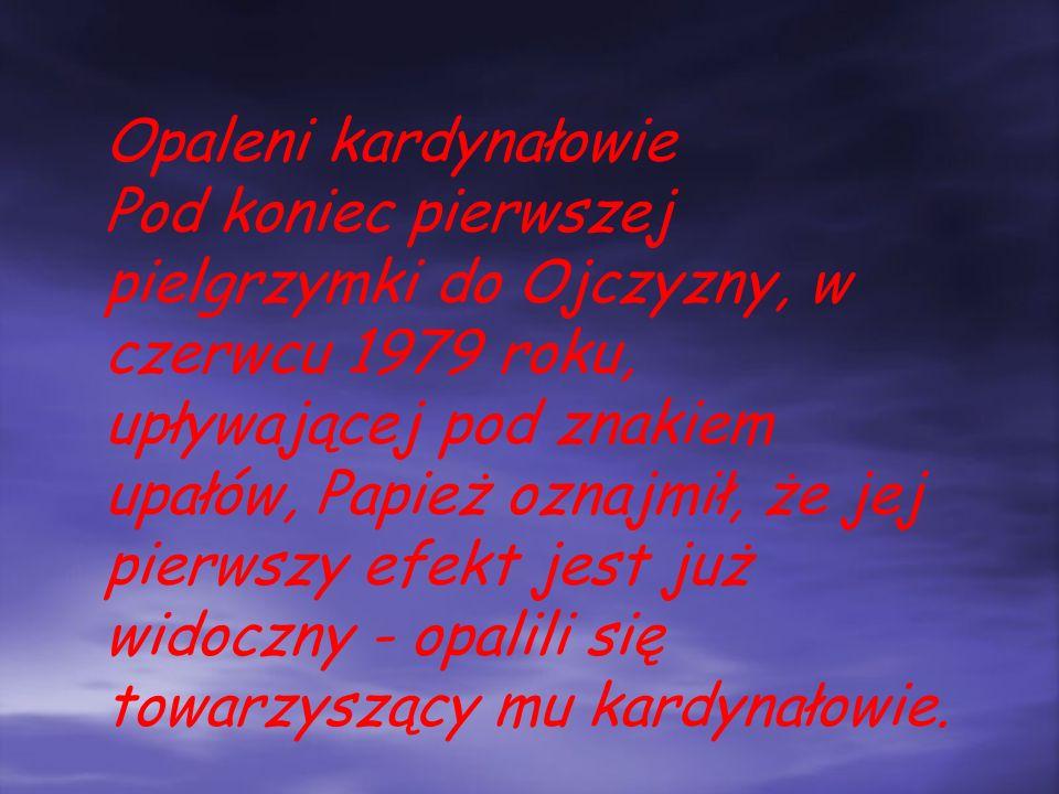 Przeprosiny Metropolita krakowski Karol Wojtyła przyjechał na pogrzeb sufragana częstochowskiego, biskupa Stanisława Czajki, niemal w ostatniej chwili