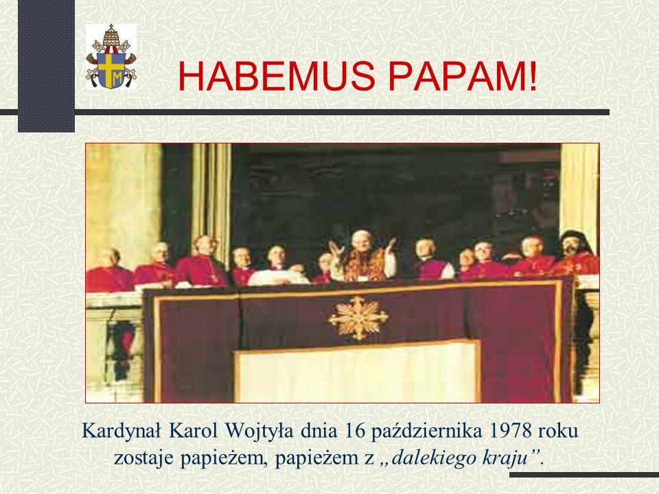 Na stolicy świętego Piotra W ciągu swego 25-letniego pontyfikatu bywał w wielu miejscach i spotykał się z różnymi ludźmi menu