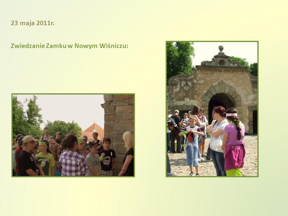 Zwiedzanie Zamku w Nowym Wiśniczu: 23 maja 2011r.