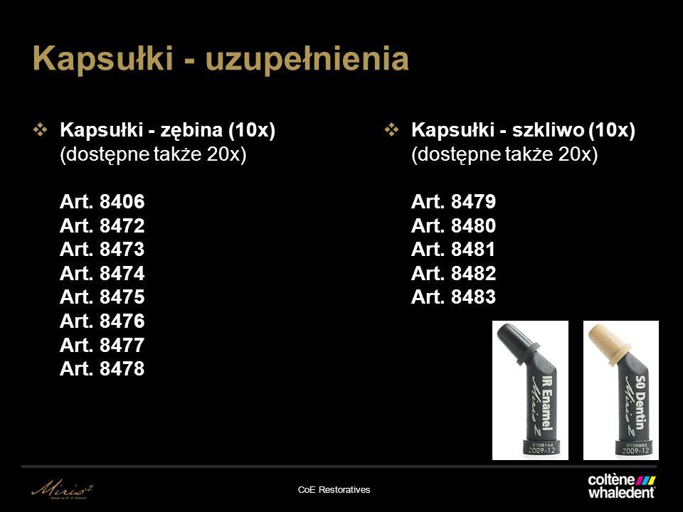 CoE Restoratives Kapsułki - zębina (10x) (dostępne także 20x) Art.