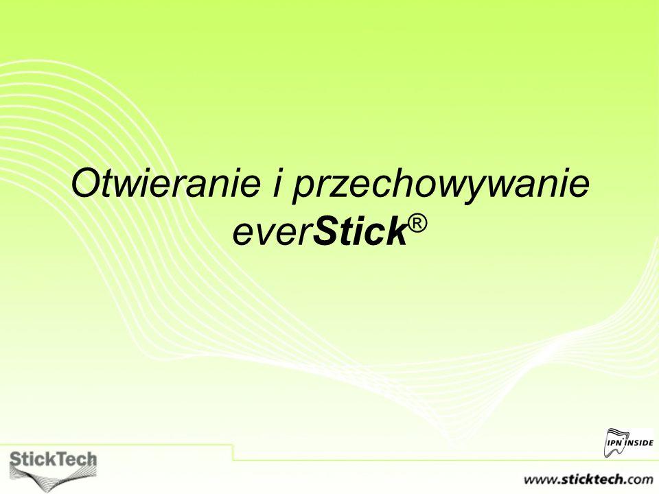 UWAGI Zawsze przechowuj produkty everStick® w lodówce (2-8 ).