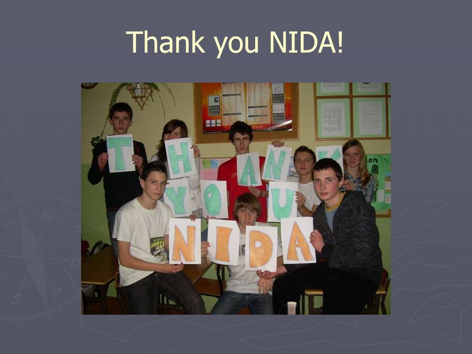 Thank you NIDA!