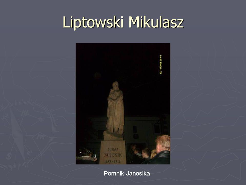 Liptowski Mikulasz Pomnik Janosika