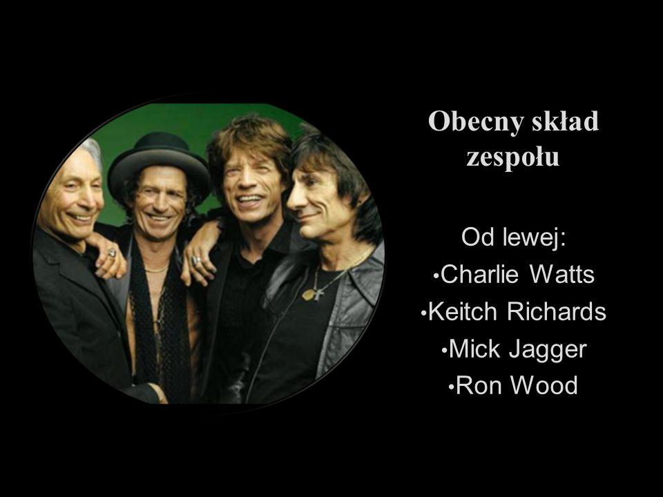 Obecny skład zespołu Od lewej: Charlie Watts Keitch Richards Mick Jagger Ron Wood