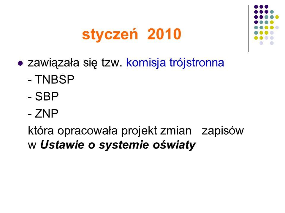 styczeń 2010 zawiązała się tzw.