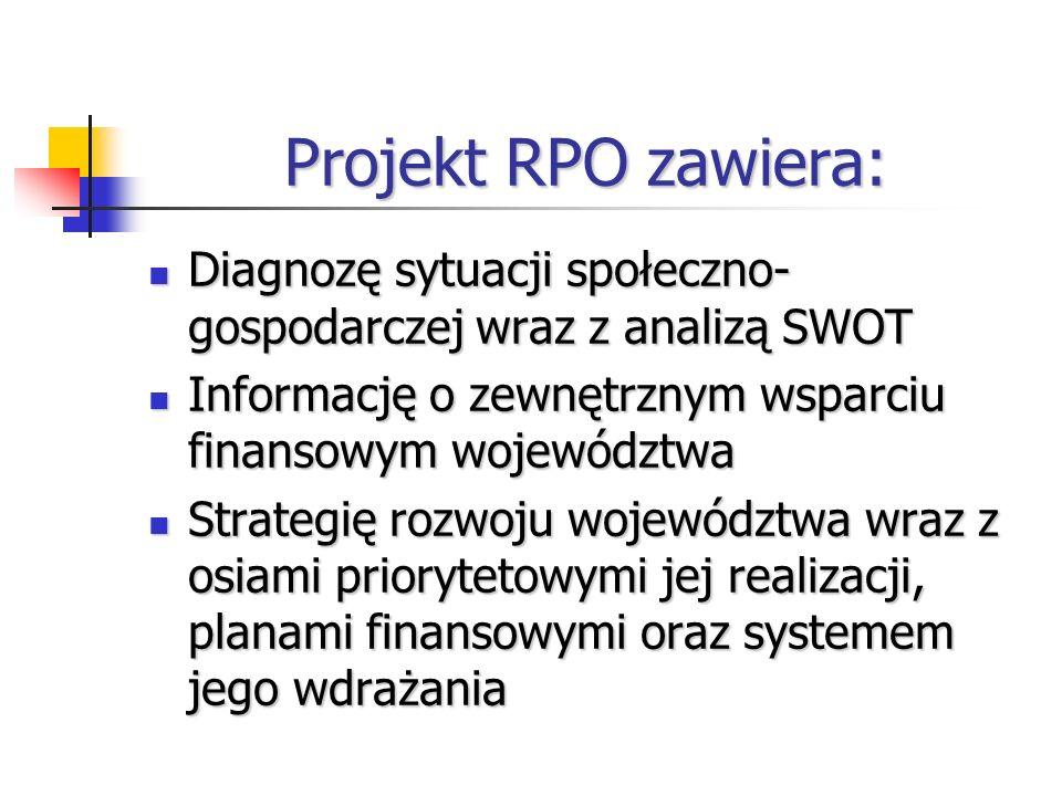 Regionalny Program Operacyjny Finansowanie Europejski Fundusz Rozwoju Regionalnego (EFRR) Europejski Fundusz Rozwoju Regionalnego (EFRR) Publiczne środki krajowe Publiczne środki krajowe Środki prywatne Środki prywatneWdrażanie Zarząd Województwa Kujawsko- Pomorskiego Zarząd Województwa Kujawsko- Pomorskiego