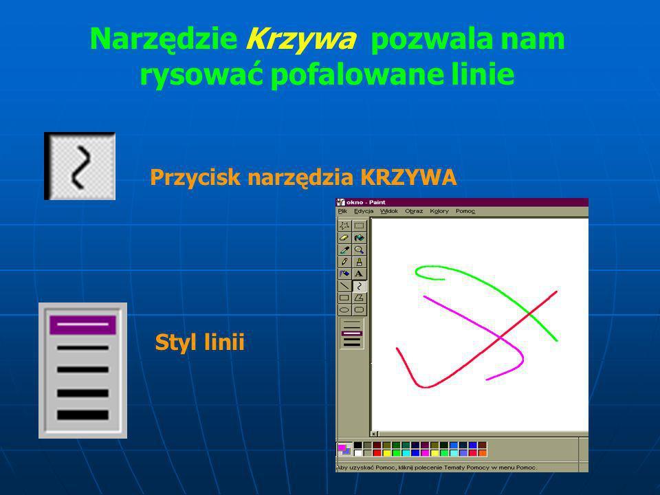 Aby narysować prostokąt lub kwadrat: W przyborniku kliknij ten przycisk, aby utworzyć kształt o prostokątnych narożnikach......lub ten przycisk, aby u