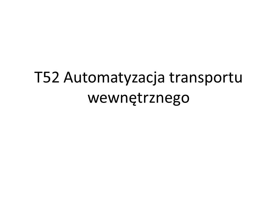 T52 Automatyzacja transportu wewnętrznego