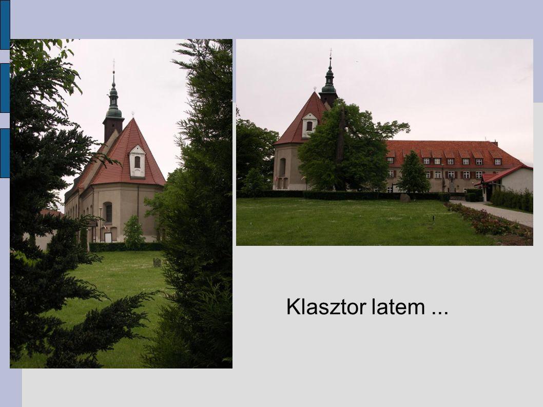 Klasztor latem...