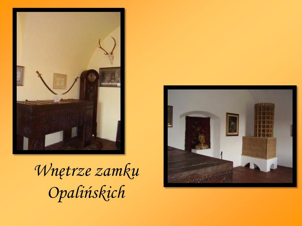 Wnętrze zamku Opalińskich