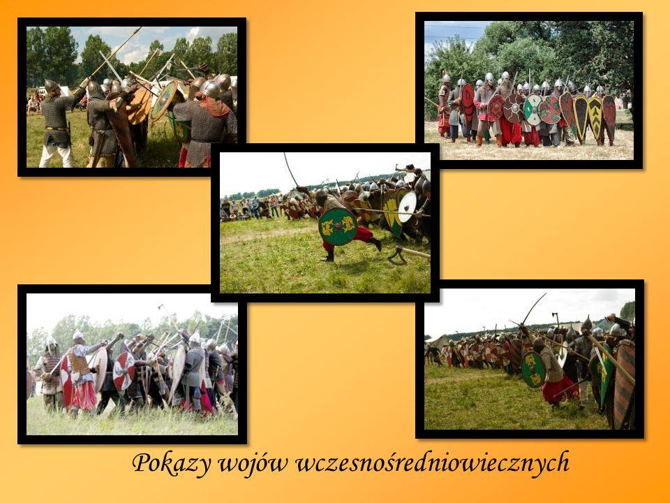 Pokazy wojów wczesnośredniowiecznych