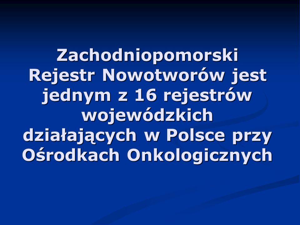 Zgony na nowotwory złośliwe w 2002, 2003 i 2004 r.