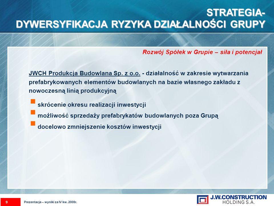 POLITYKA SPRZEDAŻOWASPÓŁKI W 2009r.POLITYKA SPRZEDAŻOWA SPÓŁKI W 2009r.