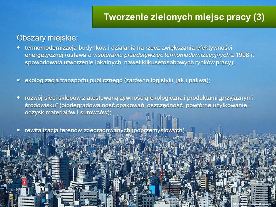 Obszary miejskie: termomodernizacja budynków i działania na rzecz zwiększania efektywności energetycznej (ustawa o wspieraniu przedsięwzięć termomoder
