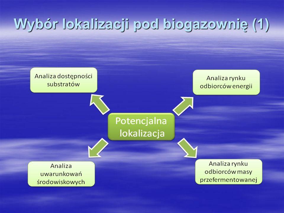 Wybór lokalizacji pod biogazownię (1)