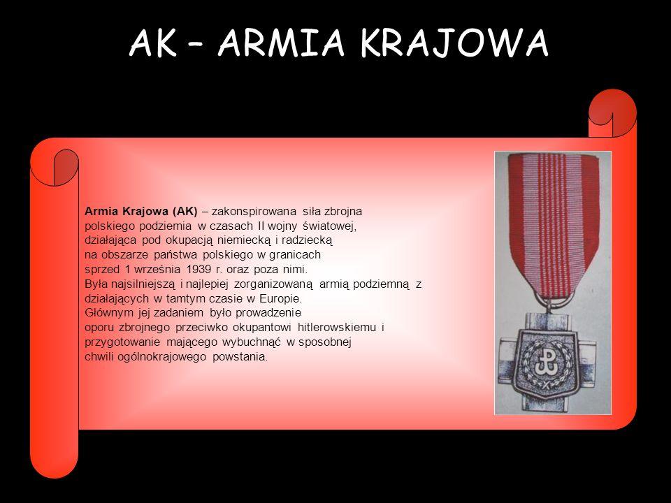 NSZ – NARODOWE SIŁY ZBROJNE Narodowe Siły Zbrojne (NSZ) – polska konspiracyjna organizacja wojskowa obozu narodowego działająca podczas II wojny światowej i w okresie powojennym.