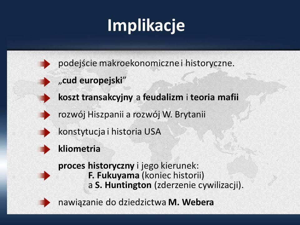 Implikacje podejście makroekonomiczne i historyczne.