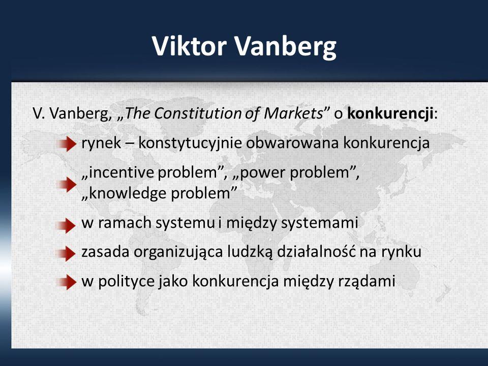 Viktor Vanberg V.