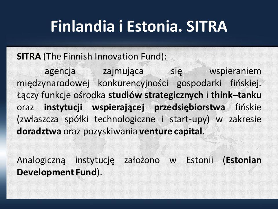 Finlandia i Estonia.