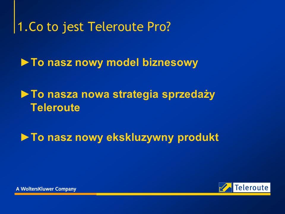 2.Dlaczego nowa strategia sprzedaży Teleroute Pro w Polsce jest skazana na sukces.