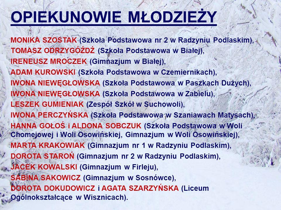XV Turystyczne Mistrzostwa Podlasia w Marszach na Orientację W 2011 roku już po raz piętnasty rozegrane zostały Turystyczne Mistrzostwa Podlasia w Marszach na Orientację.