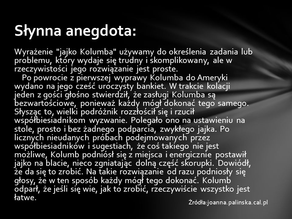 Teraz pokażemy kilka wzorów Podstawowy wygląd jajka Żrudła:joanna.palinska.cal.pl