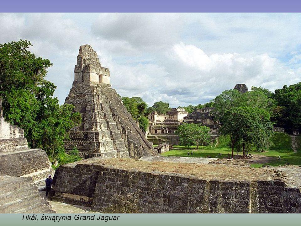 Tikál, ruiny z okresu Majów