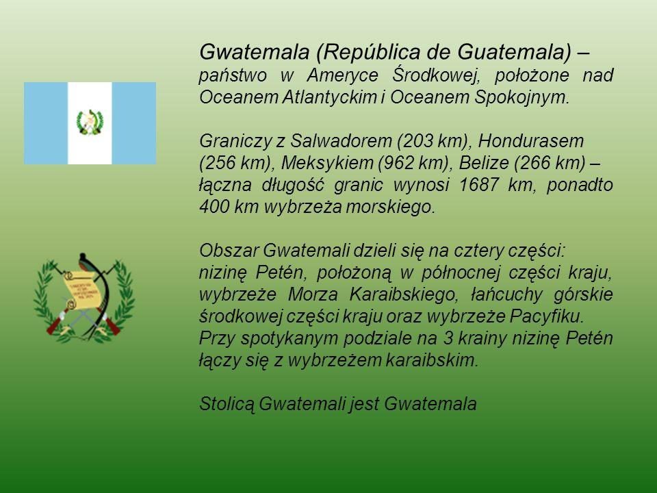 Atrakcje turystyczne Gwatemali jokoretsina